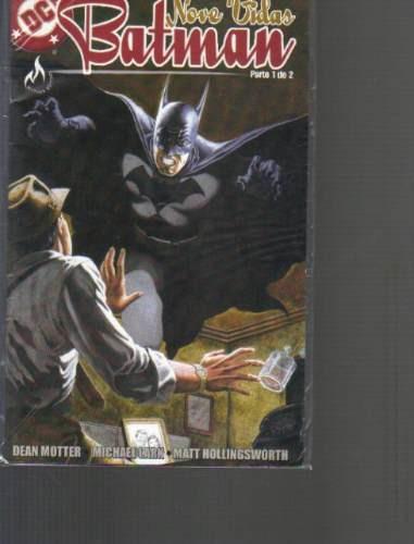 batman nove vidas parte 1 dc editora mythos