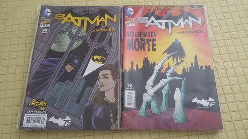 batman novos 52 - diversos números - usado/frete grátis