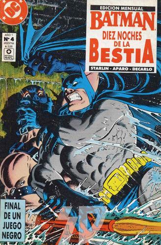 batman numero 4 / dc comics / editorial perfil