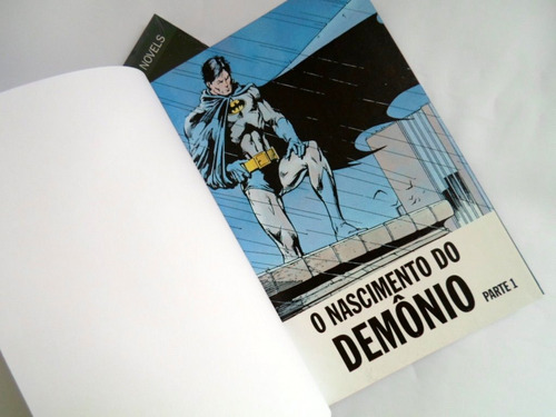 batman - o nascimento do demônio [ eaglemoss ]