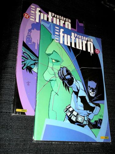 batman - pretérito futuro - mini serie - ótimo - heroishq