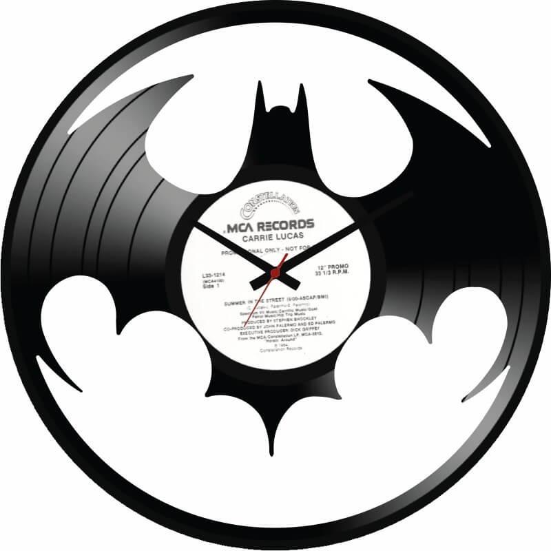 ecffb262335 Batman Relogio De Parede Disco Vinil - R  59