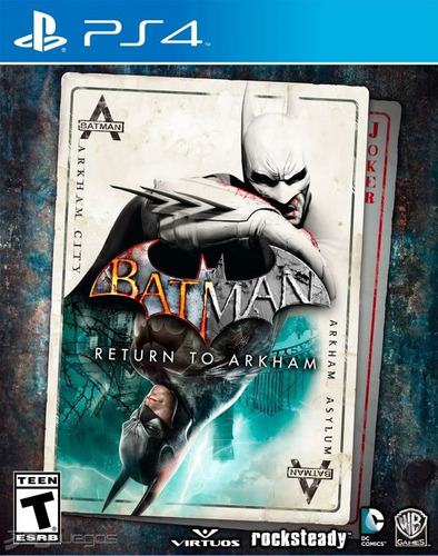 batman return to arkham ps4 fisico juego playstation 4