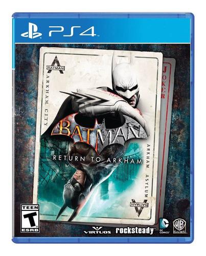 batman return to arkham ps4 sellado físico envio gratis!