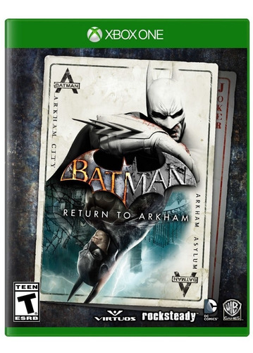 batman return to arkham xbox one juego nuevo fisico
