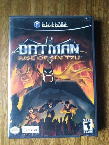 batman: rise of sin tzu - gamecube