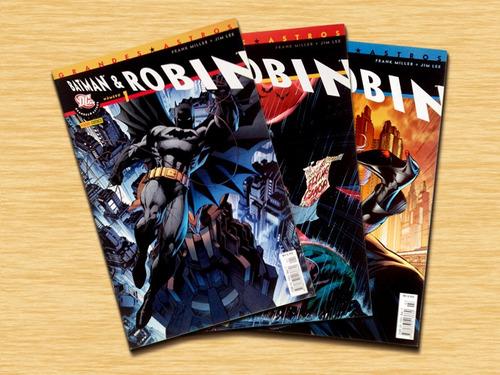batman & robin - 1 a 3