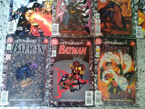 batman saga contagio 11 comic coleccion completa dc