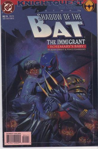 batman shadow of the bat n24 año 94