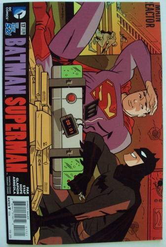 batman superman 17 portada variante de darwyn cooke dc 2015