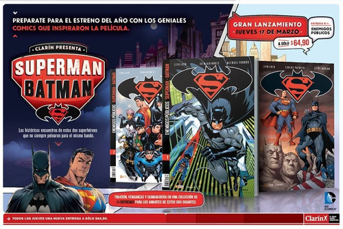 batman superman clarin