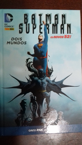 batman superman dois mundos - greg pak e jae lee! perfeito!