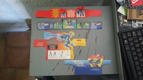 batman superman la mascara publicidad y logos de los 90