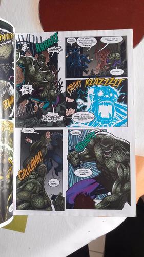 batman - swamp thing - (crossover) de moench y jones