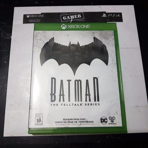 batman talltale series xbox one usado . cambios gamer ..