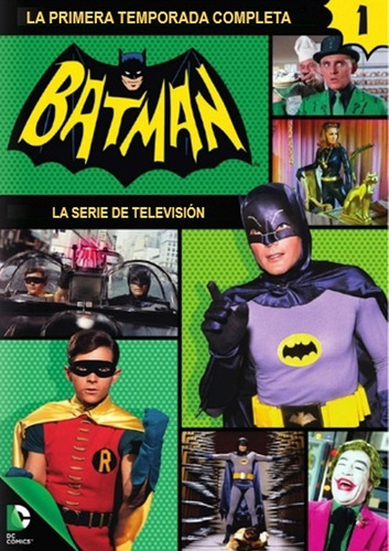 batman temporada 1 uno serie tv en dvd