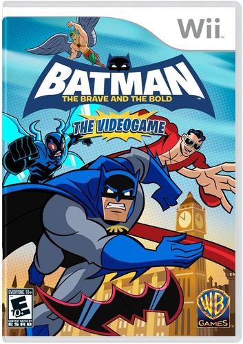 batman: the brave and the bold - nintendo wii -usado-