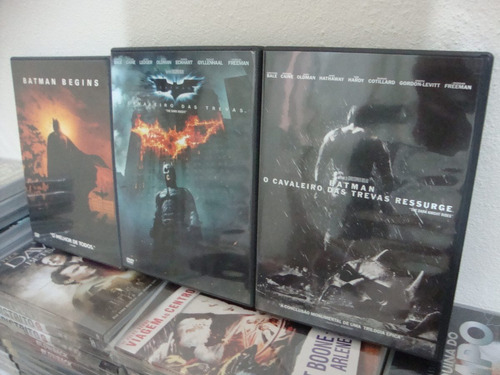 batman - trilogia de christopher nolan