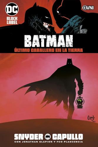 batman último caballero en la tierra dc comics - robot negro