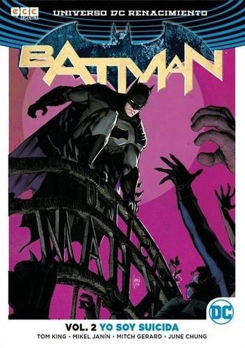 batman vol. 02: yo soy suicida - janin, gerard