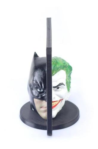 batman vs coringa/joker - dc comics - ilusão espelho mágico