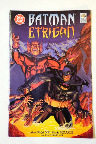 batman vs. etrigan - especial raro!!! bau comic shop