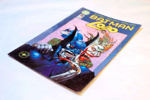 batman vs. lobo - especial raro!!! bau comic shop