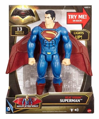batman vs superman dawn of justice heat vision superman 12