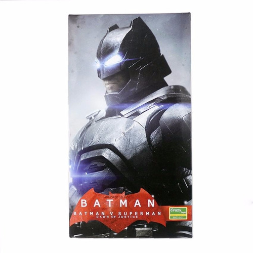 batman vs superman figura the dark night blindado 30 cm