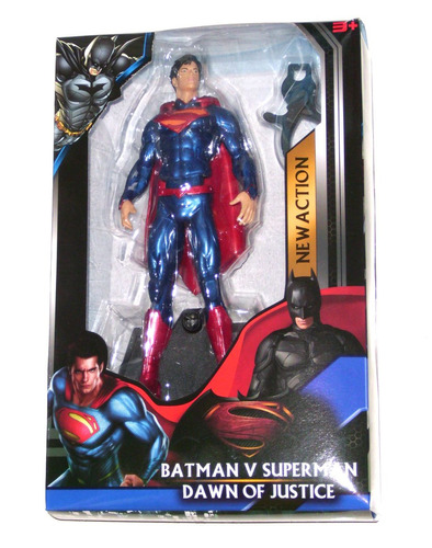 batman vs superman muñecos 2 modelos 25 cm - fair play toys.