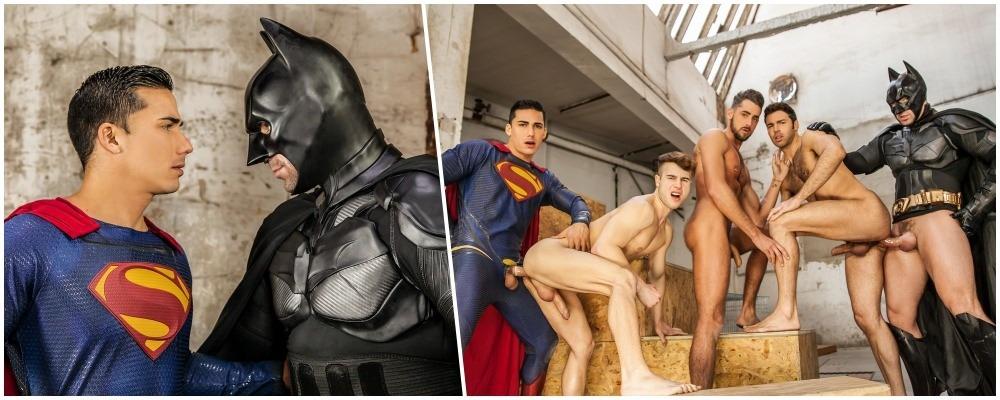 Batman Superman schwul Pornos