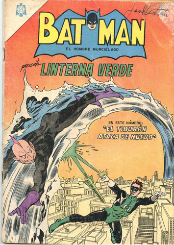batman y linterna verde nº 267 ( abril 1965), novaro