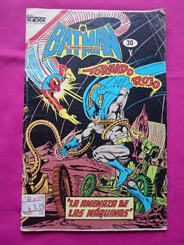 batman y tornado rojo n° 30 - editorial cinco