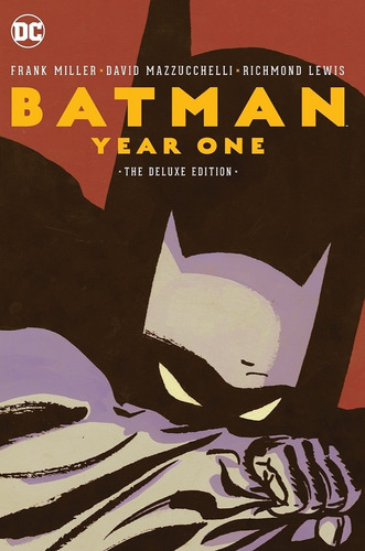 batman year one deluxe - dc comics - robot negro