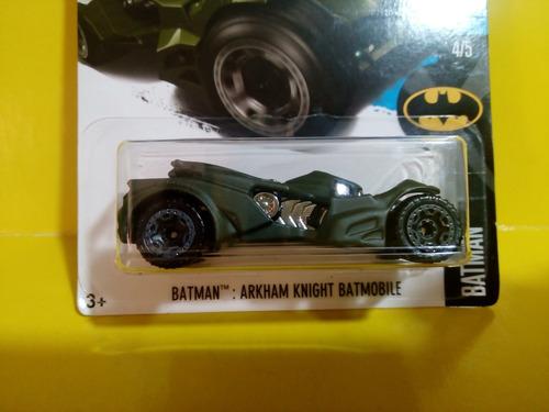 batmobile batman arkham knight green hotwheels