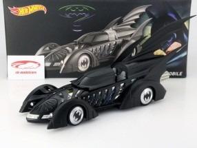 batmobile batman forever movie 1995 1:18 hotwheels heritage