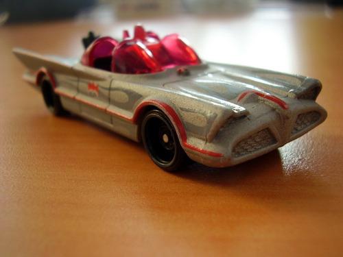 batmobile hotwheels 1966 batimovil gris blister
