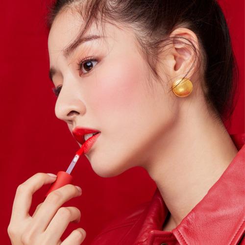batom coreano tint matte  - shionle velvet tint
