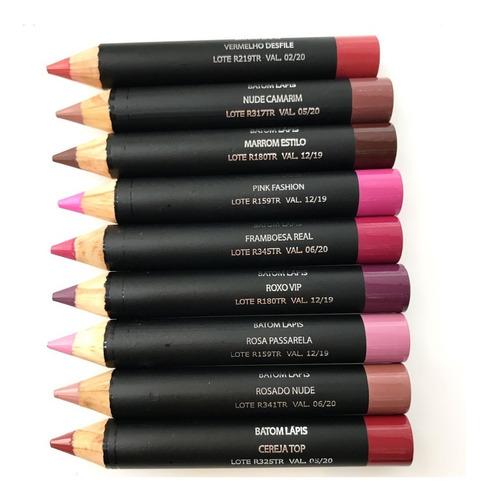 batom lápis color matte eudora - escolha a cor