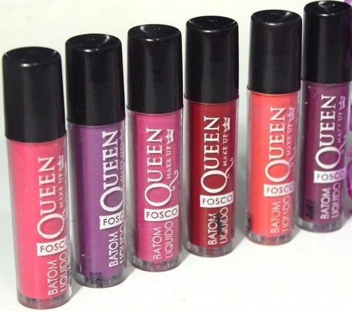 batom líquido matte queen makeup=ricosti,dailus!grande promo