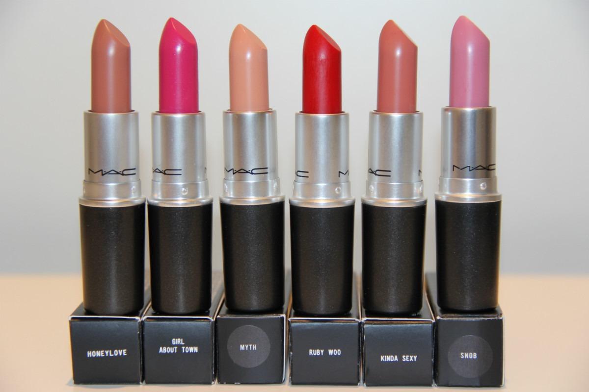 Batom MAC: as melhores cores para valorizar seus lábios