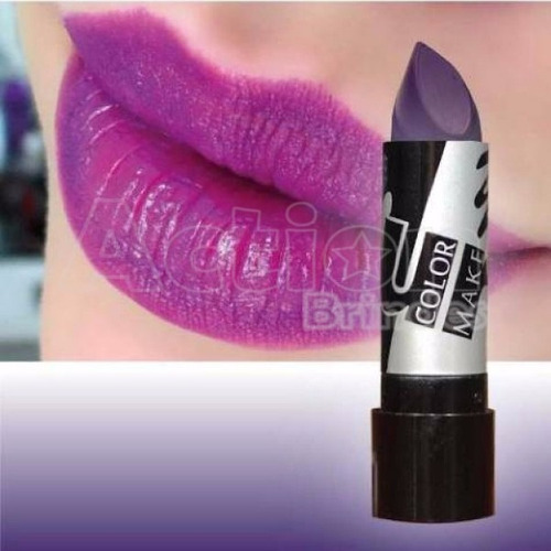 batom roxo color make
