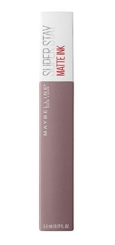 batom super stay matte ink maybelline - huntress 5ml