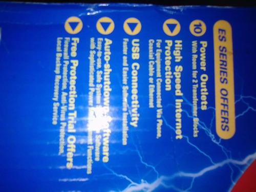 battery backup de 750 voltios