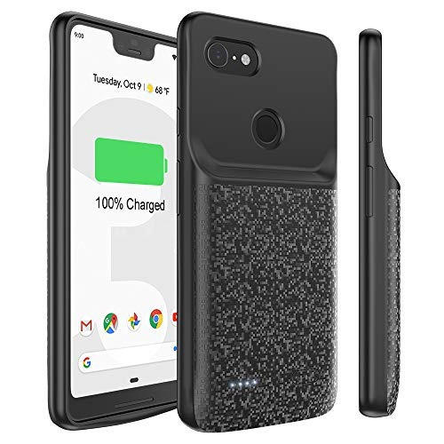 finest selection 4eac8 a1bb6 Battery Charging Case For Google Pixel 3 Xl, Highwings 4700m