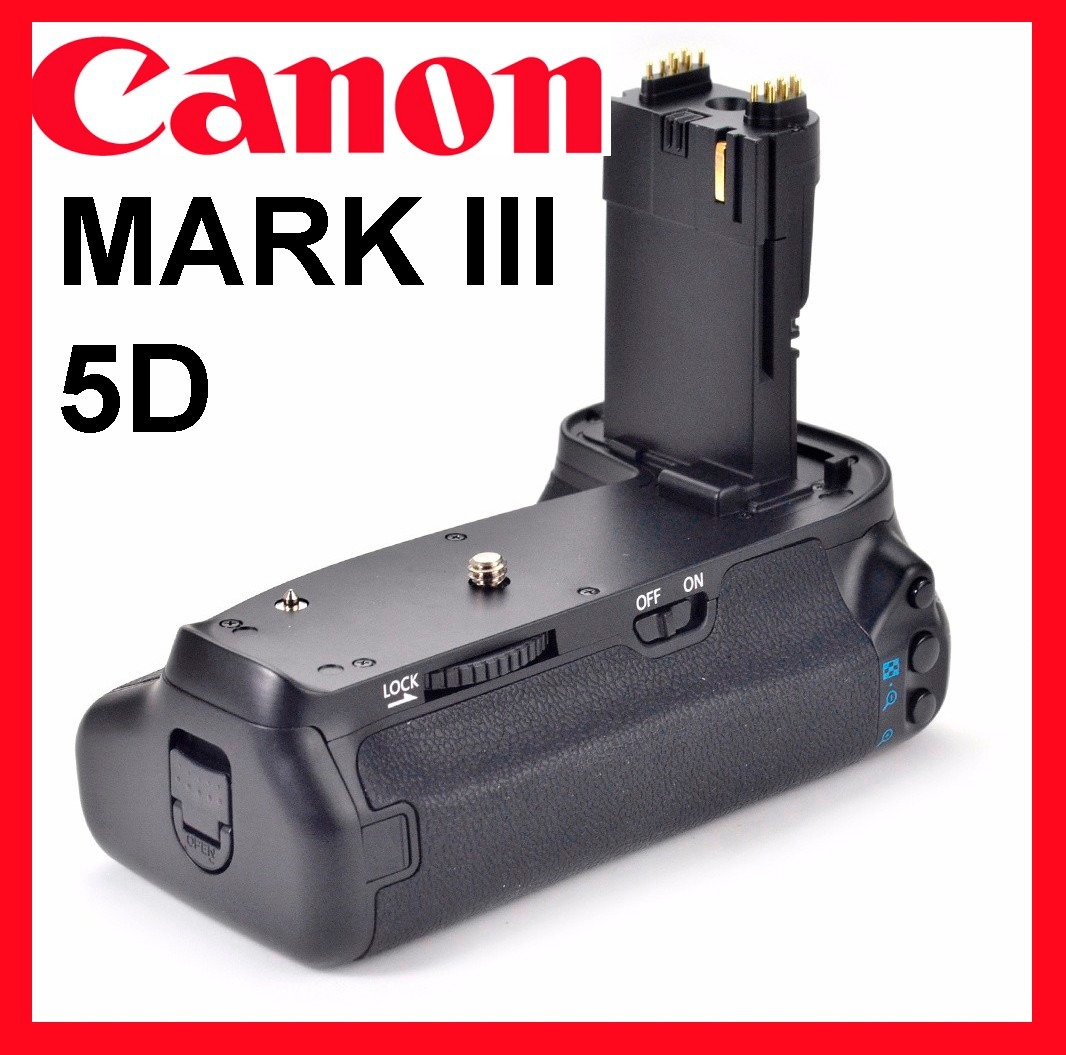 Battery grip canon 5d mark iii mark 3 para canon full hd for Canon 5d mark ii precio