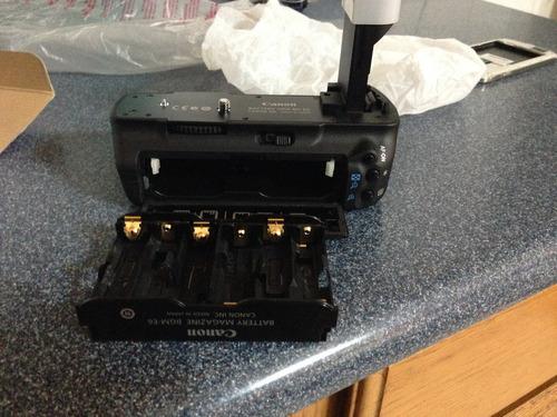 battery grip canon  para 5d mark iii - iiii (bg-e6)