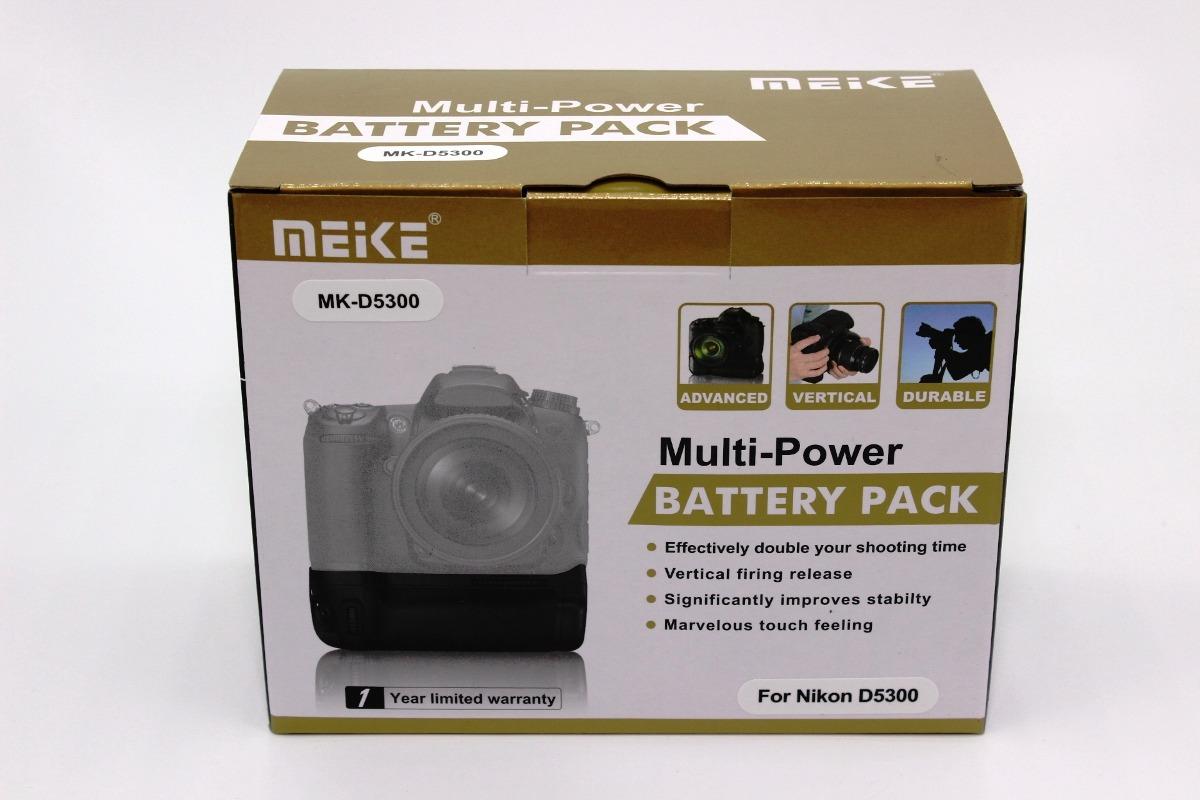 Battery Grip - Grip De Bateria - Meike D5300 - Nikon D5300