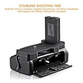 Battery Grip Nikon D5100 D5200 D5300 Dslr 2 Baterias En-el14