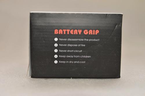 battery grip p/ canon eos t2i t3i t4i t5i= bg-e8 - galperin
